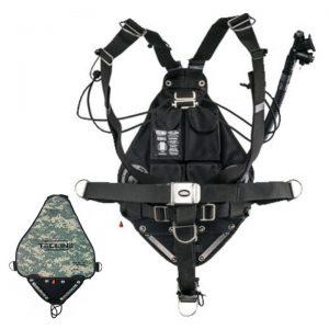 Tecline: Sidemount Side 16 systeem Avenger  Camo / 36 lbs
