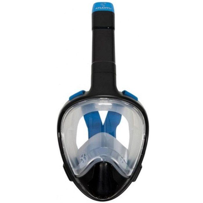 aqua-lung-atlantis-3-full-face-snorkelmasker-zwart