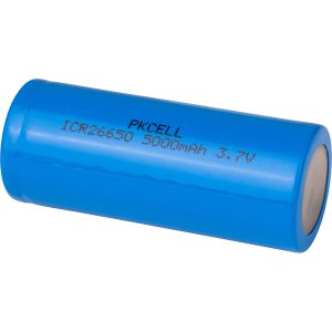 Batterij 26650 Lithium-Ion 5000mAh 3.7V