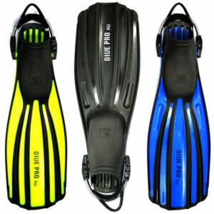 Divepro: XU buitenwater vinnen met RVS springstraps