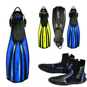 DivePro Fin Set Fins XU + Dive Boots